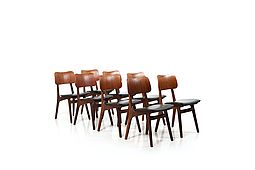 Mid Century High Quality Ib Kofod-Larsen Teak Dining Chairs