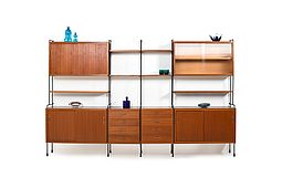 Omnia Shelf System in Teak by Ernst Dieter Hilker 1960s
