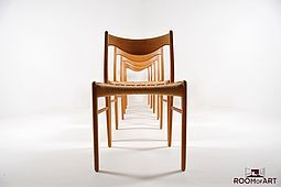 Set of 6 Dining Chairs by Glyngøre