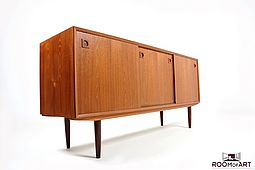 Low Sideboard in Teak by Skovby