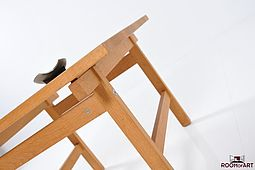 Side Table in Oak by Hans J. Wegner