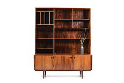 Danish, 1960s Book-shelf-cabinet by Sven Ellekaer