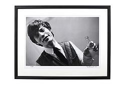 Philip TOWNSEND (1940-2016) 'Mick Jagger at Studio 51' 1963. Limited Edition