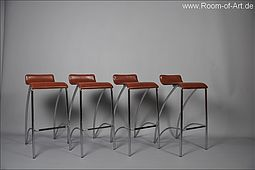 Set of four Danish Bar Stools