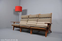 GE-375 three seater by Hans J. Wegner