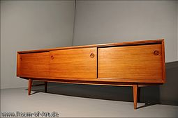 Low Sideboard / Credenza in Teak