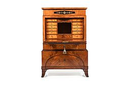 1820-1830 German Empire-Biedermeier Secretary
