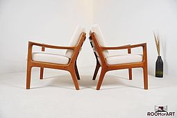 Pair of Easychairs by Ole Wanscher