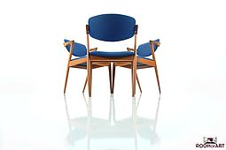 Kai Kristiansen Dining Chairs in Teak