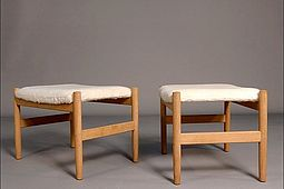 Pair of danish Footstools