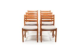 Set of Six Danish Dining Chairs by Poul Volther for Sorø Stolefabrik