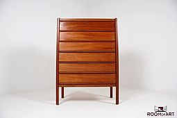 High Chest of Drawers in Teak