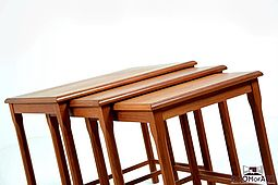 Nesting Tables in Teak