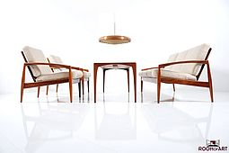 A Kai Kristiansen Seating Group in Palisander
