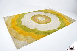 Besmer Wool Rug from the 60's