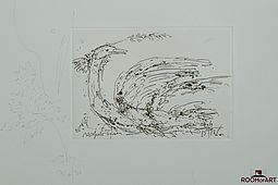 Fine Line Drawing. Hand Signed