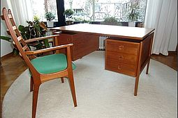 Danish Desk & Armchair in Teak