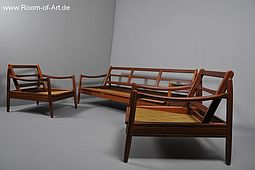 Danish Sofa Group in Teak