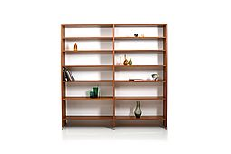 RY100 Shelf System in Teak by Hans J. Wegner