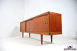 Low Sideboard in Teak by H.W.Klein