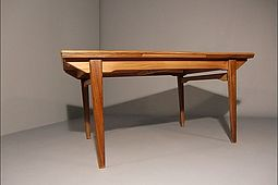 Dining Table in Teak by Danish Furniture Maker