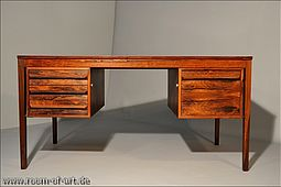 Desk in fine Rosewood by Torbjørn Afdal