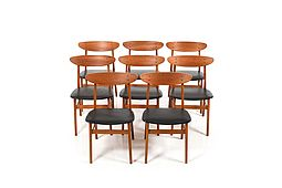 Set of 8 Danish Dining Chairs by Farstrup Møbler