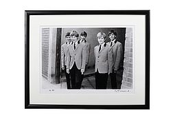 Philip TOWNSEND (1940-2016) The Rolling Stones 'Outside Studio 51' 1963. Limited Edition
