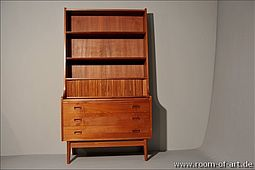 Large Writing Cabinet / Secretary in Teak
