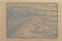 Lithography, 1920s 'Coast'