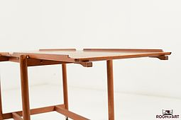 Service Trolley in Teak by Poul Hundevad