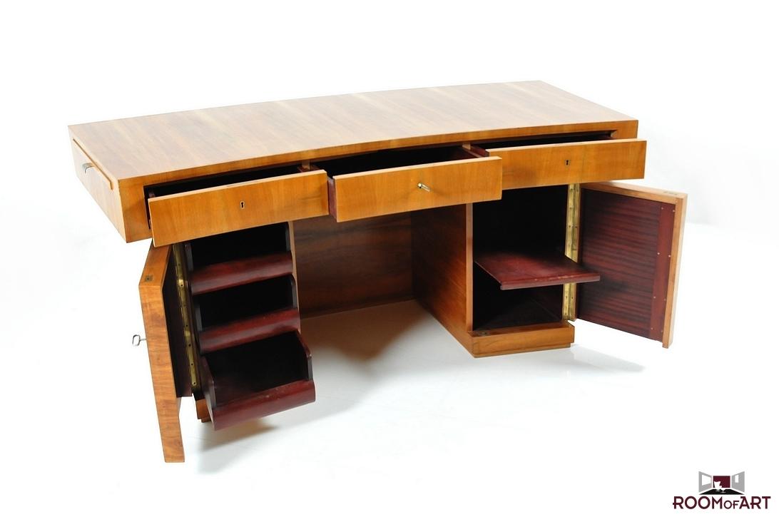 rare art deco bauhaus writing desk room of art. Black Bedroom Furniture Sets. Home Design Ideas