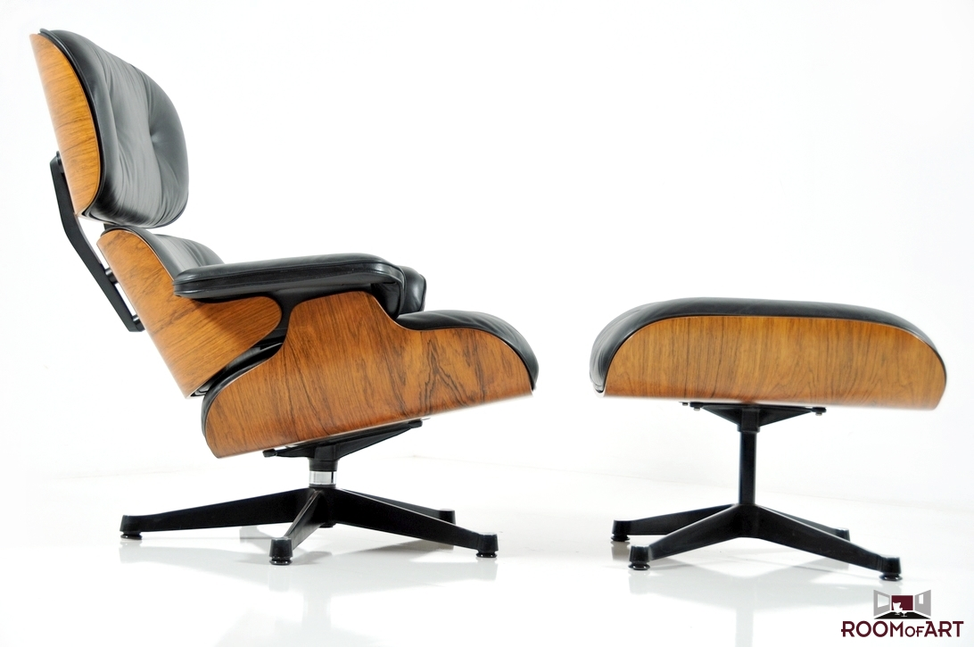 Eames lounge chair ottoman room of art for Vitra replica deutschland