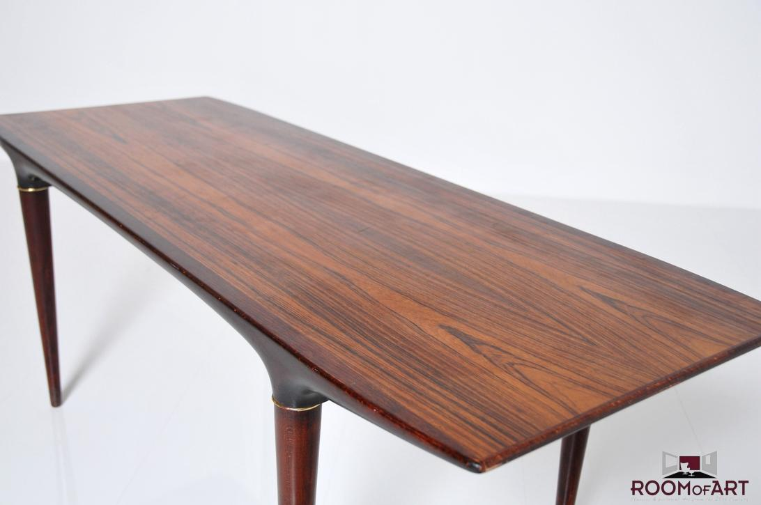 Fine danish sofa table in palisander room of art for 6 sofa table
