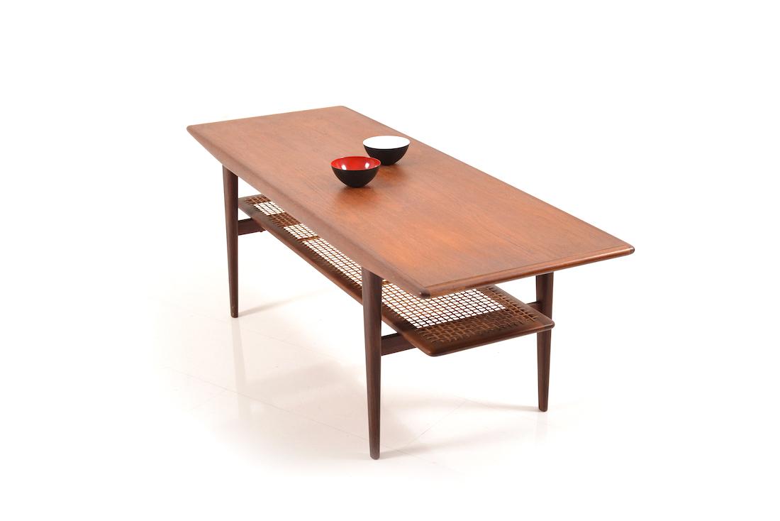 mid century dansih sofa table in teak room of art. Black Bedroom Furniture Sets. Home Design Ideas