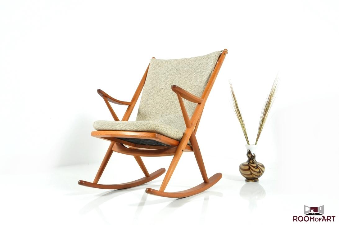 Frank reenskaug rocking chair - Frank Reenskaug Rocking Chair 32