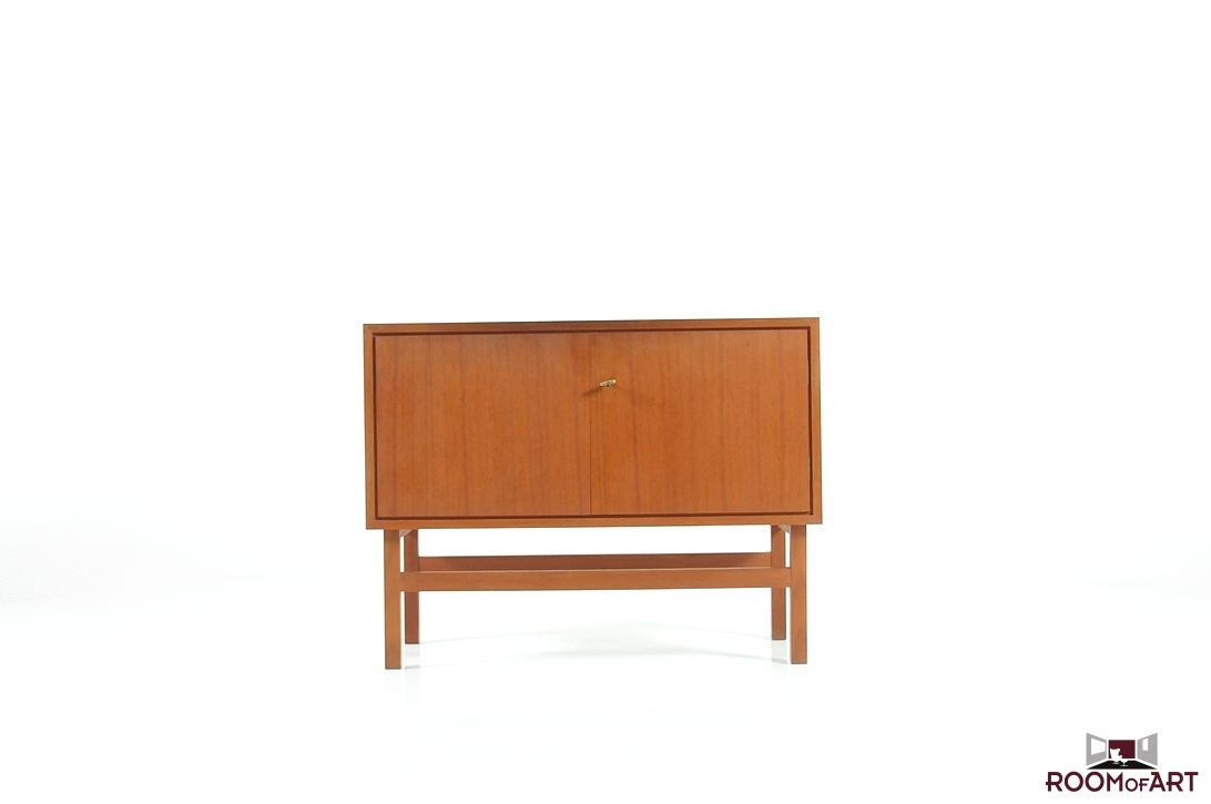 Small Danish Credenza : Mid century small danish sideboard room of art
