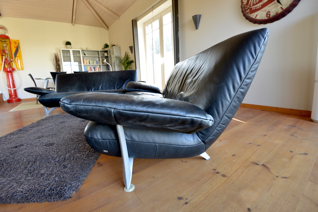 comfortable rolf benz sofa. Rolf Benz Black Leather Sofa Set Comfortable I