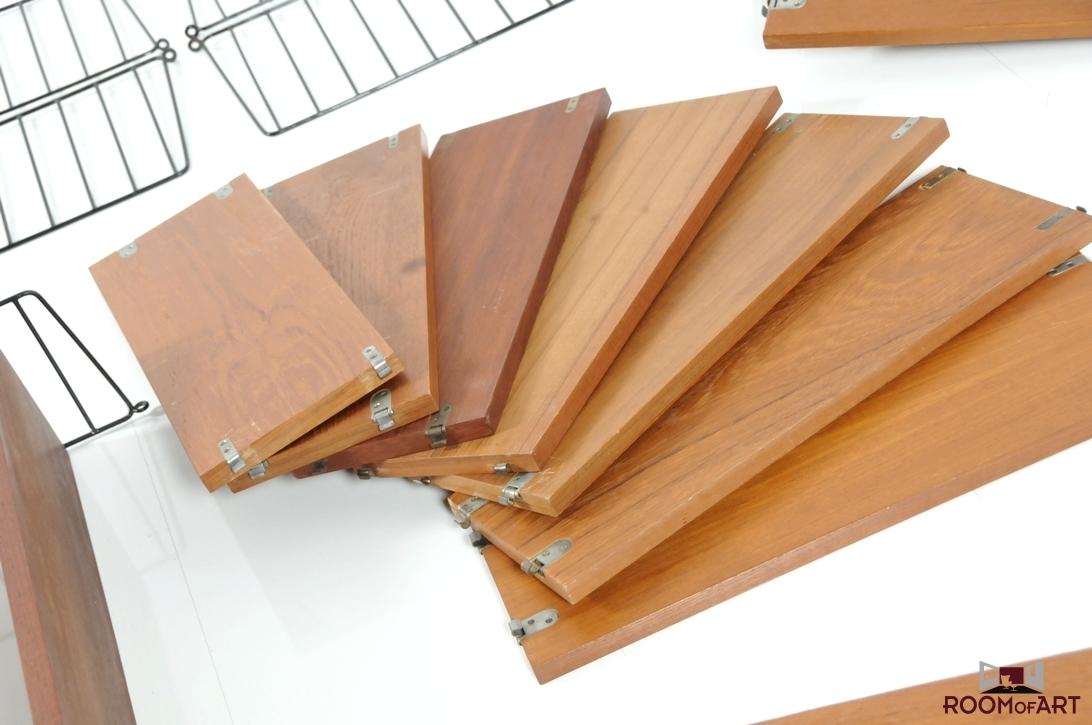 shelf system by nisse strinning room of art. Black Bedroom Furniture Sets. Home Design Ideas