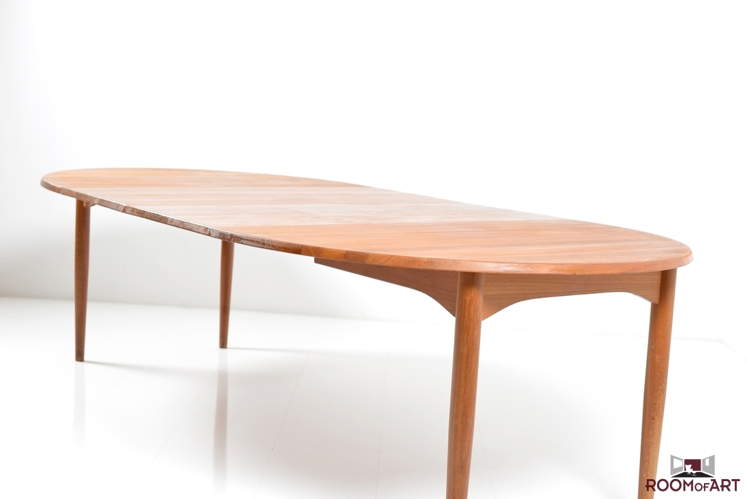 Oval Danish Dining Table Room Of Art