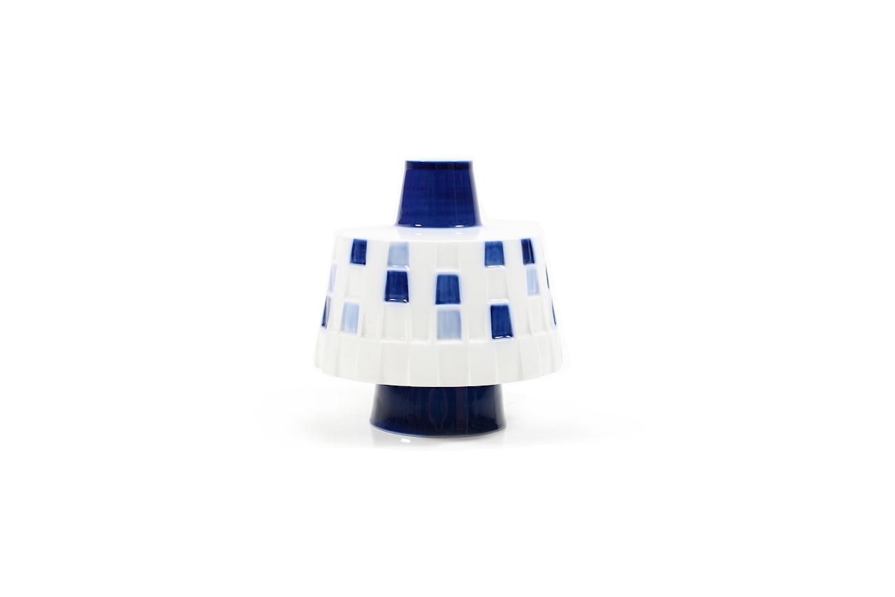 1960s KPM Berlin Porcelain Vase by Gunilla Palmstierna-Weiss