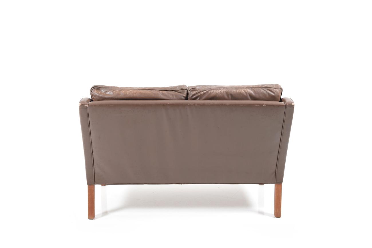 Leather Sofa 2208 By B 248 Rge Mogensen Room Of Art